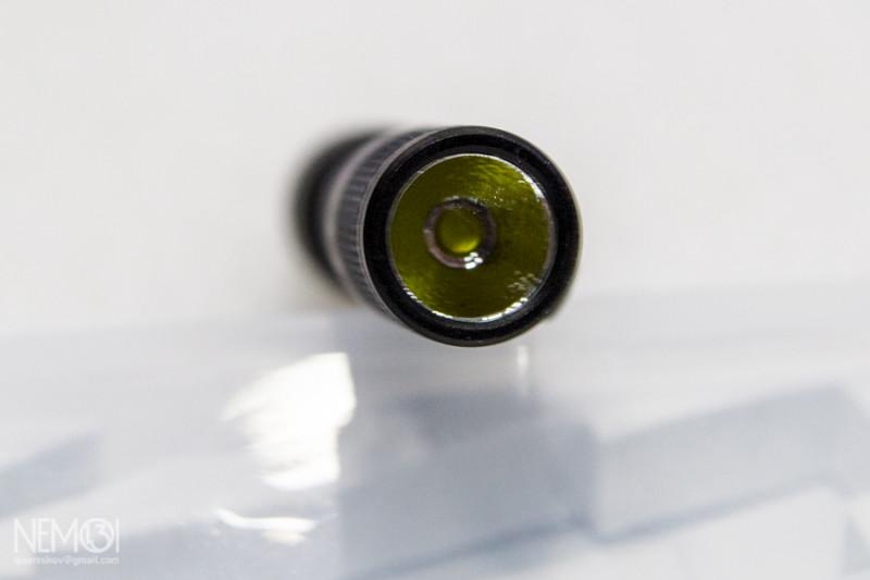 Маленький наключный фонарик LUMINTOP Tool AAA