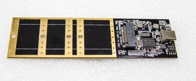 Кейс с интерфейсом USB 3.1 предназначенный для М2 SSD дисков