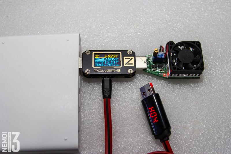 USB шнур HOCO с показометром и встроенным таймером отключения.
