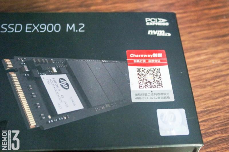 Скоростной SSD HP EX900 250G M.2 NVMe. Ракета в миникорпусе