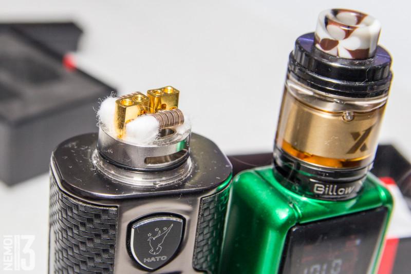 Обзор бачка Ehpro Panther RDA. Недорогой вкусный RDA. (осторожно, электронные сигареты!)