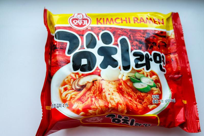 """Бичпакеты с ebay №5. Обзор лапши """"KimChi Ramyun Ramen"""" острая как батин суп"""