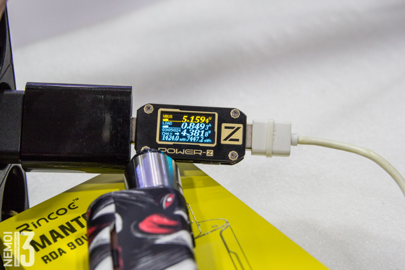 Набор парильщика Rincoe Manto Mini RDA 90W Kit (электронные сигареты)