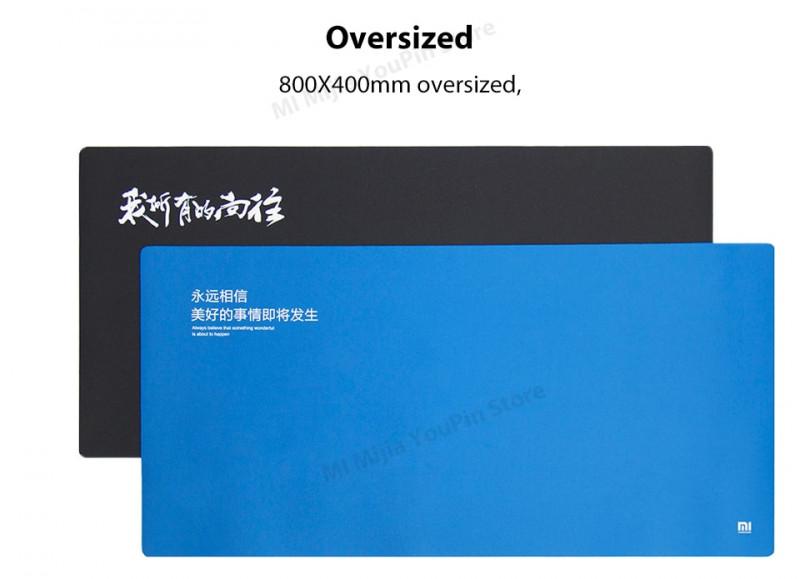 Xiaomi коврище под мышку. Размер 800х400мм. Цена 11.84 для фанатов