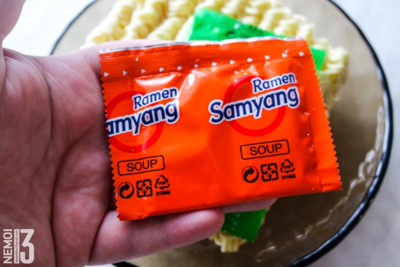 Бичпакеты с ebay №10. Обзор лапши Samyang Original Flavor Ramen. Классический рамен. (вкусно, в меру остро)