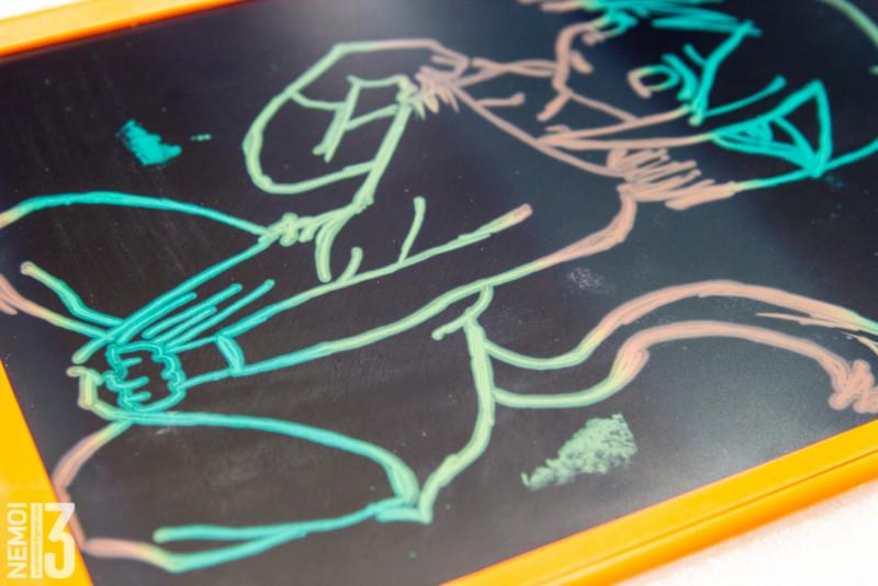 """Цветной планшет для рисования JZ10LC 10"""". Интересная детская игрушка"""