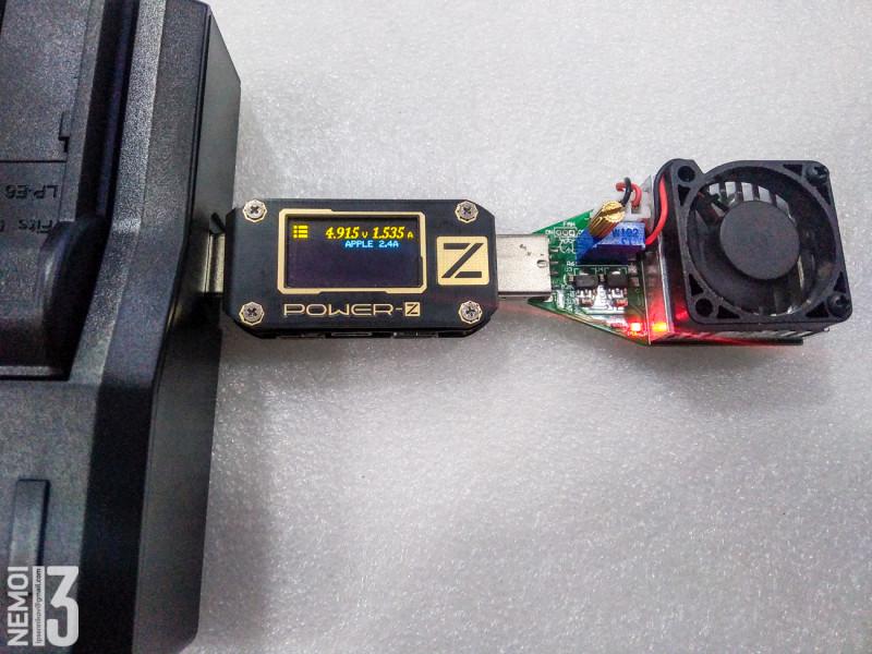 Зарядное устройство Andoer DMW-BLF19E. Заряжаем одновременно 2 аккумулятора от фотоаппарата