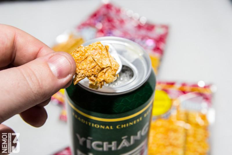 Еда с ebay (выпуск №12). Squid spicy snack. Очень очень острые чипсы из кальмара. (Вкусно, но безумно остро)