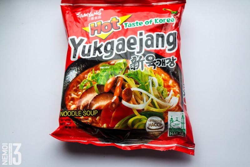 Бичпакеты с ebay №12. Обзор лапши Ramen Yukgaejang Smyang. Рамен юккедян. (вкус обычный)