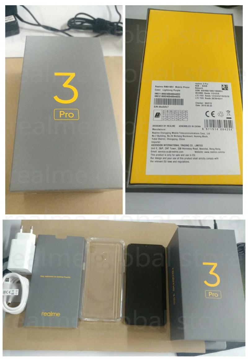 OPPO realme 3 pro (версия 4/64GB Глобальная) Цена 167.99$