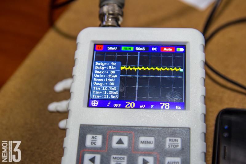 Бюджетный осциллограф DSO FNIRSI Pro. Неплохой показометр начального уровня