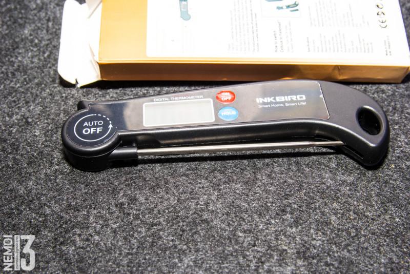 Электронный кухонный термометр-показометр INKBIRD HET-F001. Быстрообзор