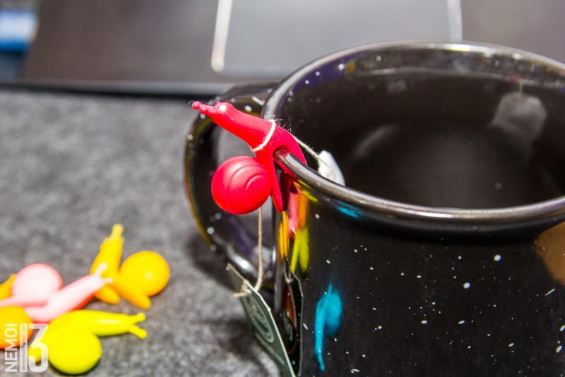 Силиконовые улитки держатели пакетиков чая