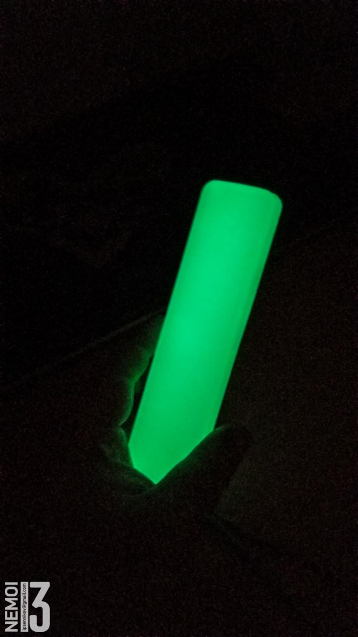 Силиконовый чехол для пульта MI Box S. Светящийся и с пупырышками