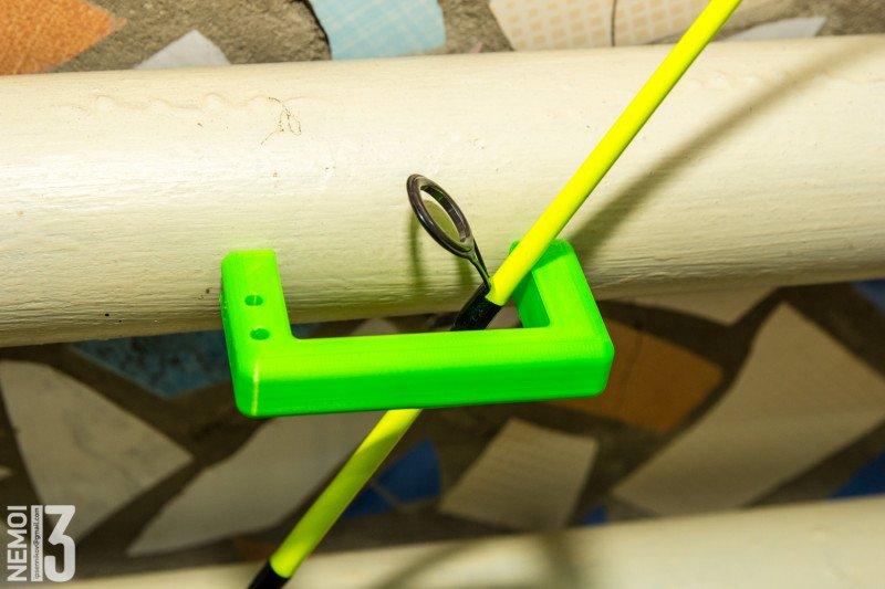 Неодимовые магниты с Aliexpress и процесс изготовления простого магнитного держателя для удочек