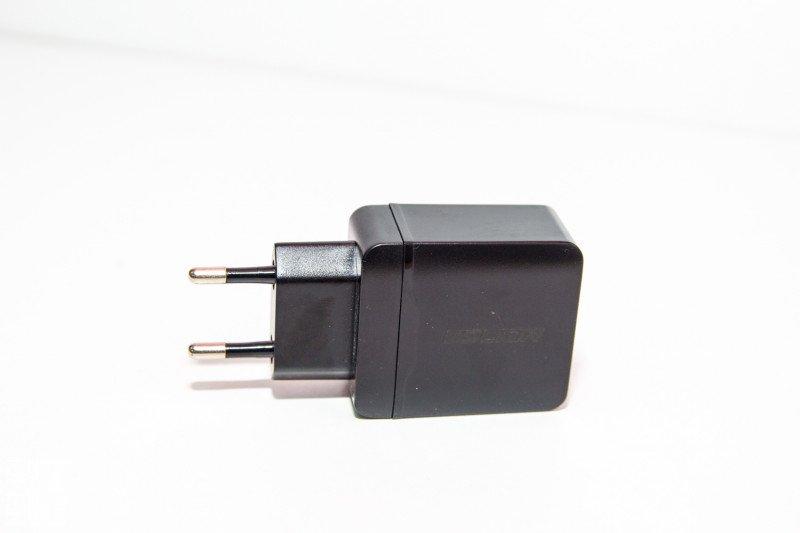 Двухпортовое зарядное устройство USLION QC3.0 28W. Недорогой и качественный QC