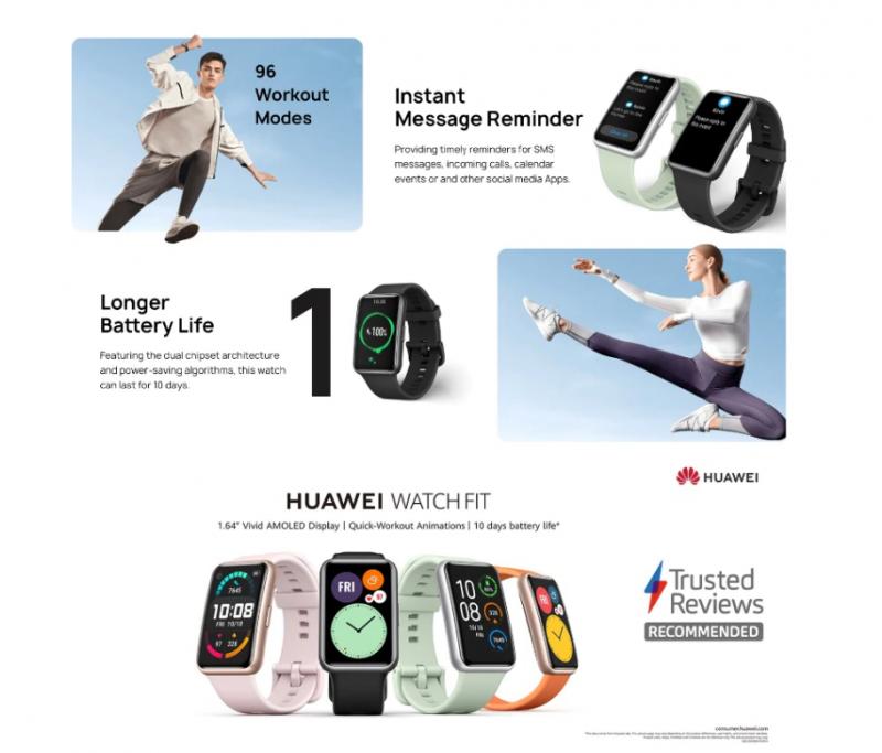 Смарт-часы Huawei Watch Fit. Цена .44