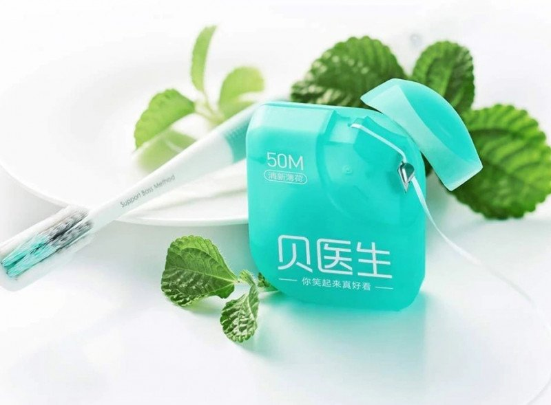 Зубная нить DR.Bei Dental Floss. Цена с купоном 0.99$