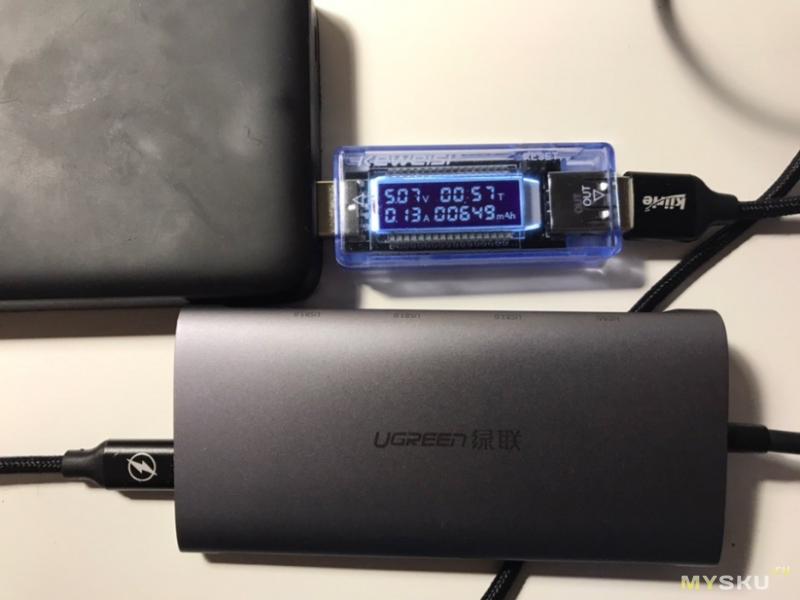 Ugreen USB Type C HUB (мини обзор)