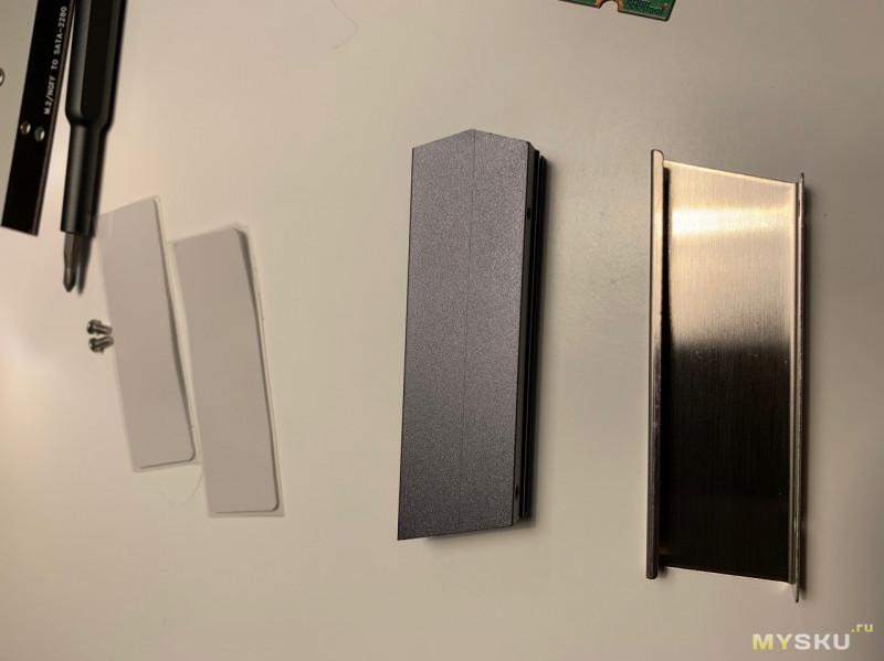 Радиатор Jonsbo для M.2 SSD  (мини обзор + тесты)
