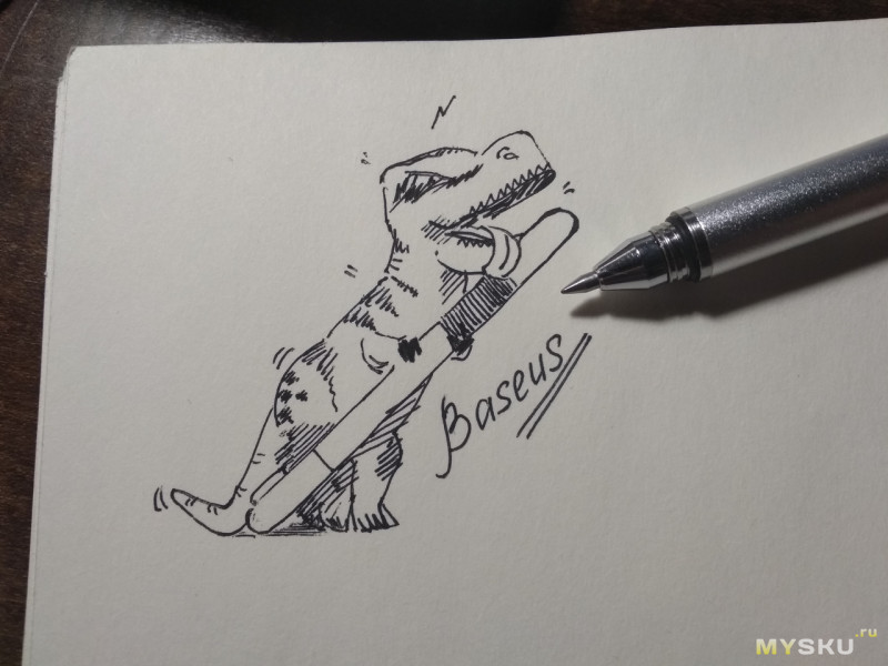 Стилус ручка Baseus, мини обзор от художника.