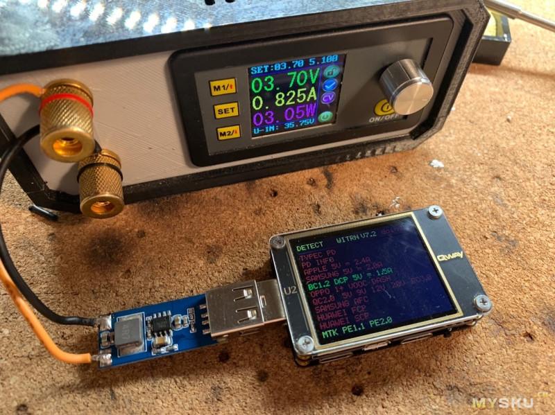 Модуль повышающего преобразователя для DIY Power bank