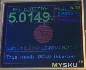 Кабель ESR TypeC-Lightning с сертификацией MFI