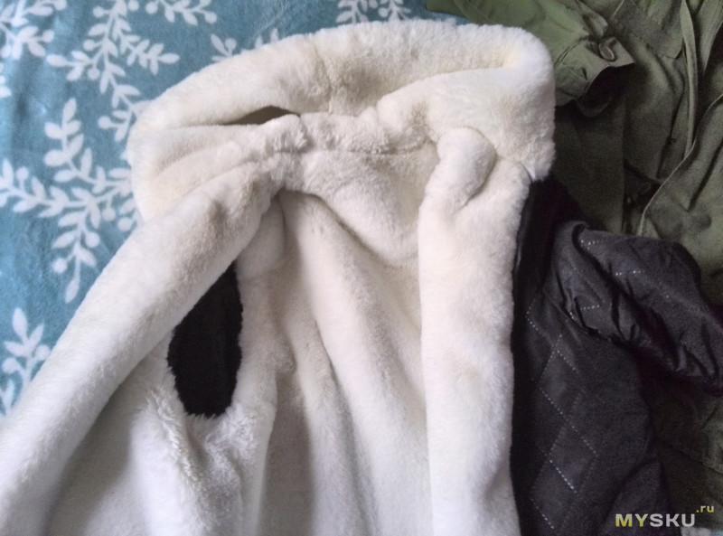 Парка с натуральным мехом енота для мамы и небольшой сравнительный анализ
