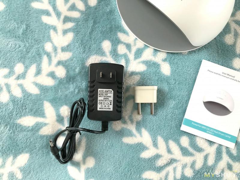Светодиодная лампа для сушки геля и гель-лака XPREEN 48W