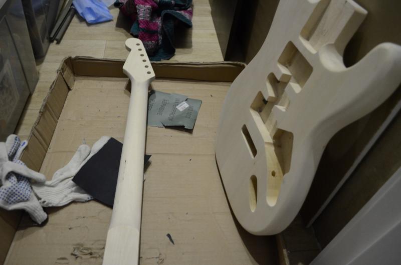 <span>DIY гитара. Собери электрогитару сам</span>