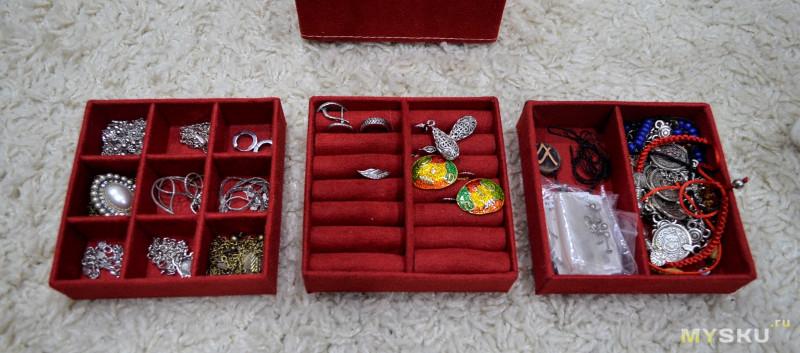 Шкатулка для драгоценностей/бижутерии и подобного