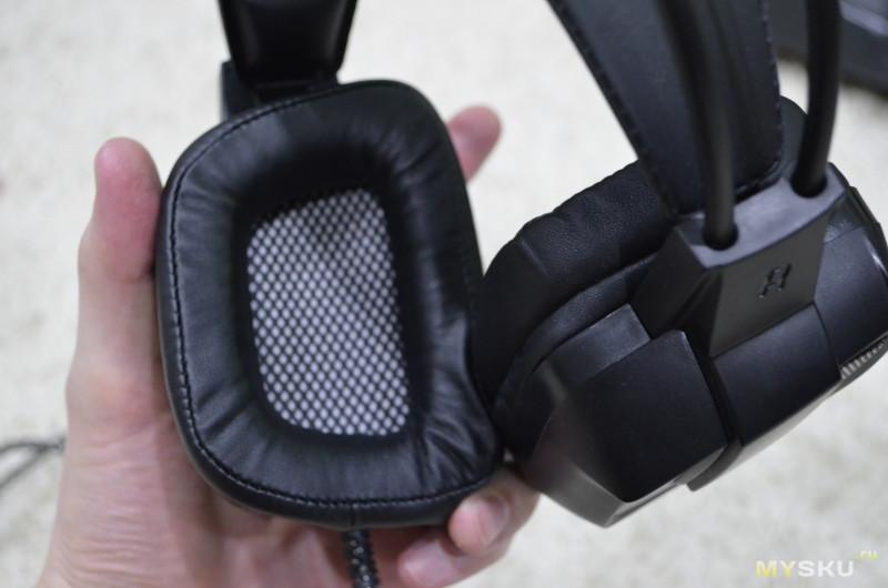 Игровые наушники T9 с вибрацией.