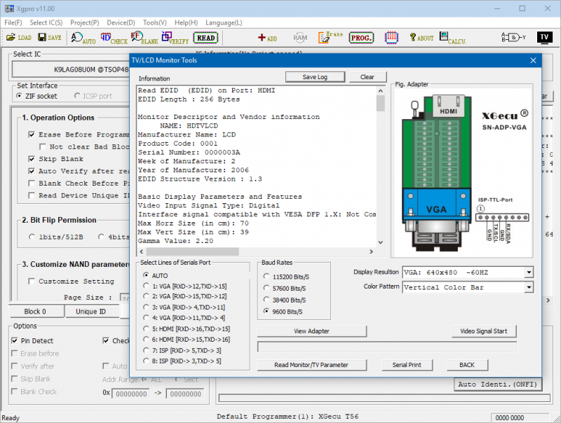 Программатор XGecu T56