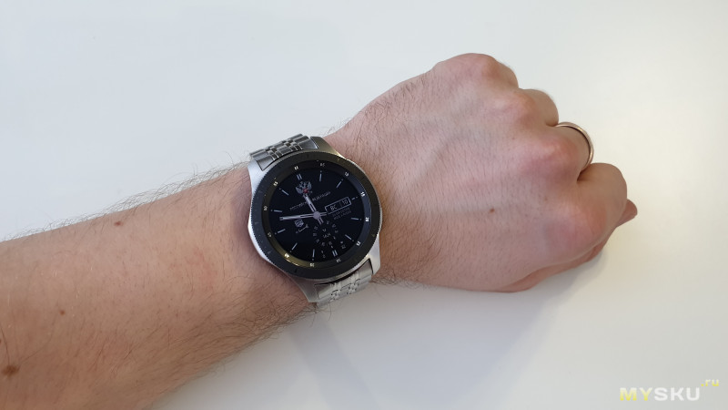 Стальной браслет для часов