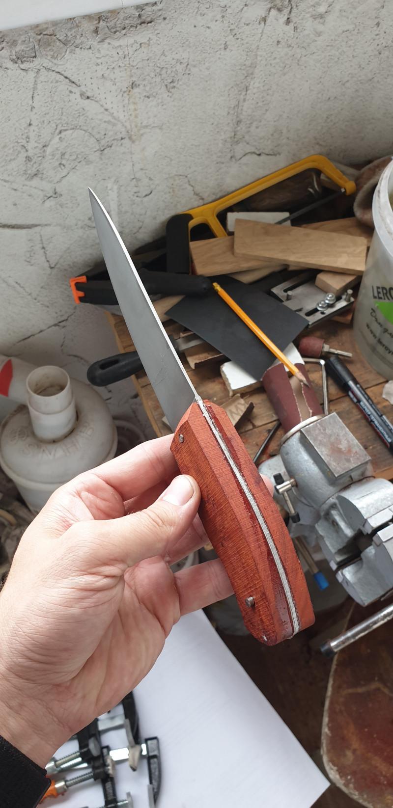 Изготовление ножа