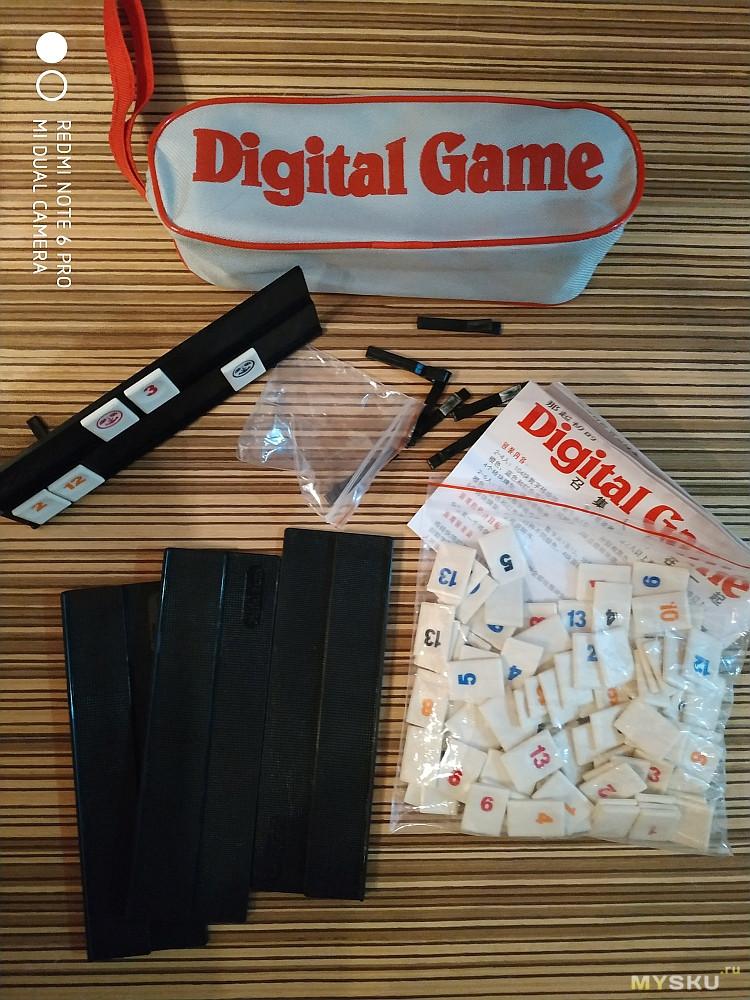 Настольная игра Rummikub (Digital Game)