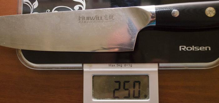 Поварской шеф-нож HUIWILL DMS116M-01