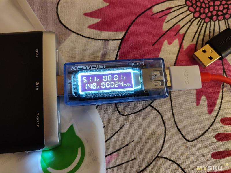 Кабель Ugreen USB A -> type-C целых 3 метра