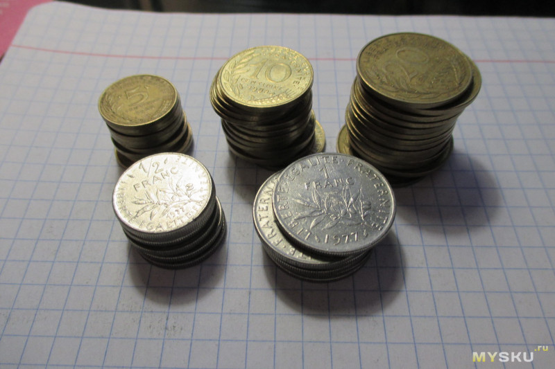 Монеты различных стран, присланные из Израиля, Великобритании, Испании, Португалии, Литвы и Латвии (сравнительный обзор) (Часть 2)