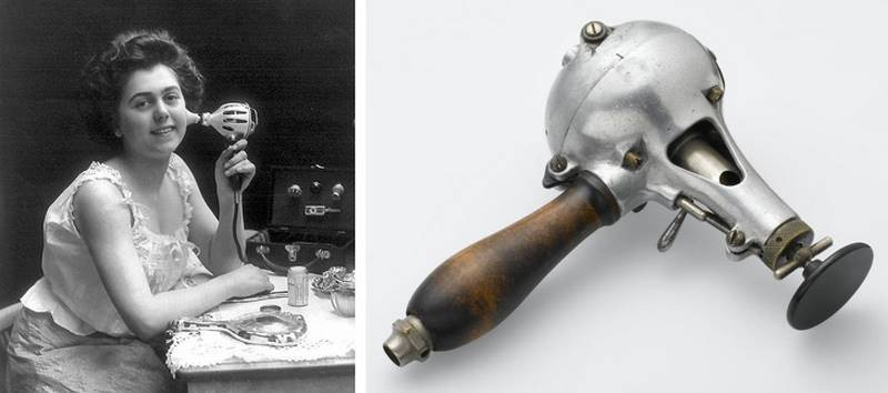 Массажер для подтяжки кожи лица. Европа, 1900-е.