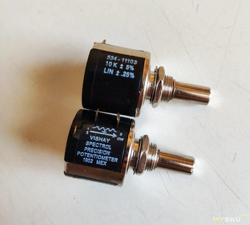 Многооборотный резистор 10к
