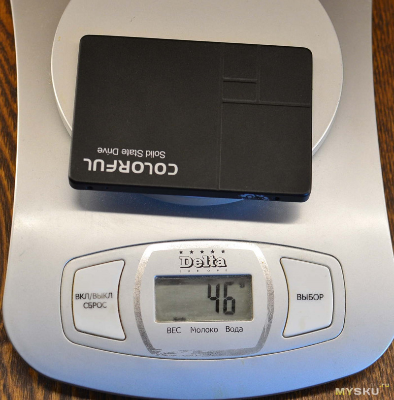 SSD-накопитель Colorful SL-300 120GB | Мини-обзор