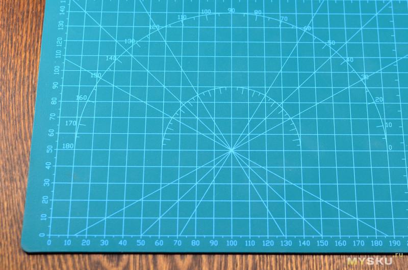 ''Самовосстанавливающийся'' двусторонний коврик для резки | Как это выглядит?
