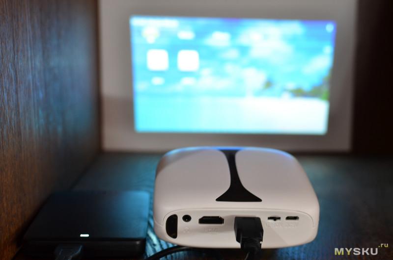Маленький DLP-проектор Rigal RD606