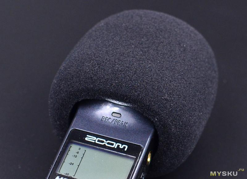 Ветрозащита для микрофонов ZOOM H1
