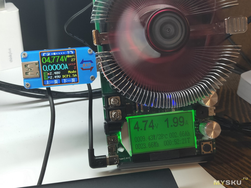 Универсальная электронная нагрузка 150W