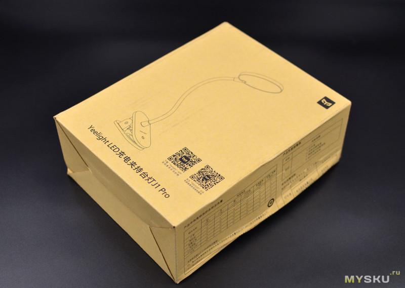 Гибкая LED-лампа Xiaomi YeeLight на прищепке