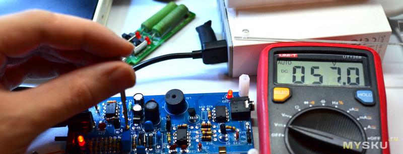 DIY модуль со счётчиком Гейгера для измерения радиации