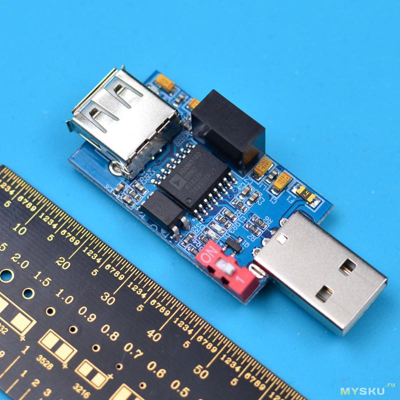 Переходник-изолятор USB-порта на ADUM3160