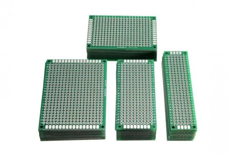 Набор из 40шт. макетных плат Geekcreit® 40pcs FR-4 2.54mm за 7.35$